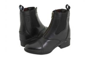 Ariat Women's Quantum Devon Pro Zip Paddock Boots in Black