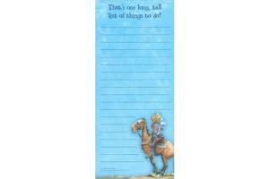 Long, Tall List Magnetic Note Pad