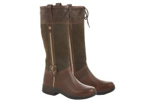 Dublin Women's Cascade Tall Boots in Brown