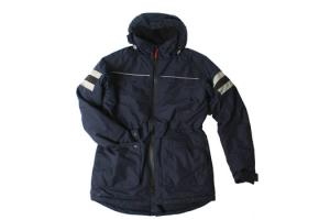 Horseware Ardan Long Jacket in Navy