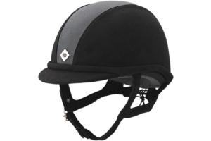 Charles Owen GR8 Helmet in Black and Charcoal