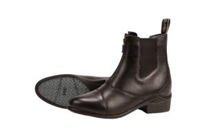 Dublin Defy Pull On Paddock Boots in Black
