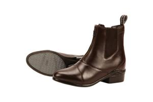 Dublin Defy Zip Paddock Boots in Brown