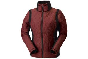 Kerrits EQ Moto Quilted Jacket in Sienna