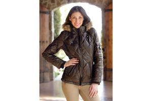 Goode Rider Essential Down Jacket in Chocolate