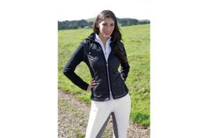 Goode Rider Performance Fleece Jacket in Black