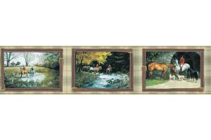 English Hunt HJ6606BD Wallpaper Border by York