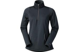 Kerrits Heathered Half Zip in Carbon