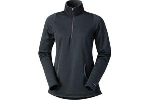 Kerrits Kids Heathered Half Zip in Carbon