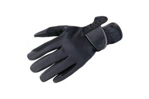 Kerrits Softshell Winter Riding Gloves in Black
