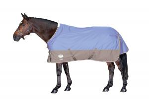 Weatherbeeta Landa Freestyle Turnout Sheet in Blue and Ash