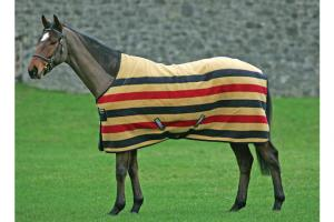 Rambo Newmarket Fleece in Witney Stripe Gold