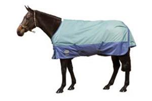 Weatherbeeta Orican Freestyle Lite Turnout Sheet in Faded Denim