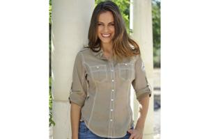 Goode Rider Perfect Shirt in Mocha