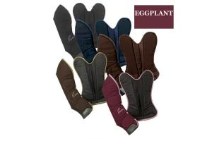 Pessoa Shipping Boots in Brown and Eggplant