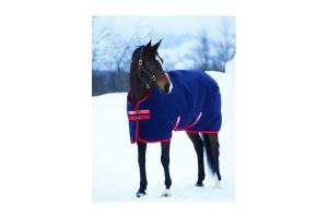 Rambo Original Medium 200g Turnout in Navy and Red