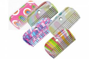 Roma Patterned Mane Comb