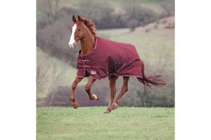 Shires Winter Typhoon 220g Rug in Burgundy
