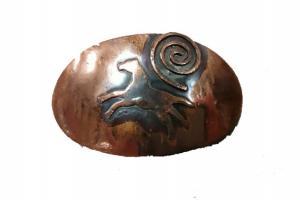 Ildanach Recycled Copper Spirit Pony Barrette