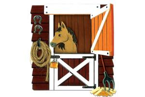 Jolee's By You - 3D Horse In The Stable Sticker