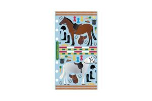 Stickopotamus Horse Stable Stickers
