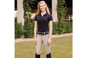 The Tailored Sportsman Trophy Hunter Full Seat Breeches in Tan
