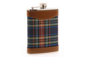 Tartan Plaid Flask