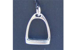 Sterling Silver Petite English Stirrup Charm