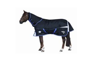 Weatherbeeta Freestyle 1200D Detach-A-Neck Medium 220g Turnout in Black and Purple