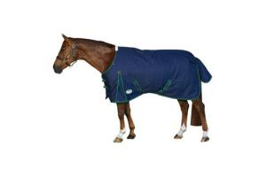 Weatherbeeta Original 1200D Standard Neck Lite Turnout in Navy and Hunter