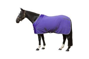 Weatherbeeta Fleece Cooler in Violet and Grey