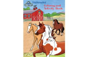 Breyer Stablemates Color and Activity Book by ALecia Underhill, Softcover| 4160 | ISBN: 019756041601