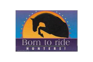 Born To Ride Hunters Magnet