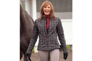 FITS Gilman Turnout Jacket in Plaid