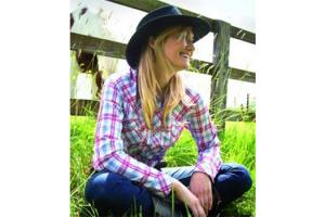 Horseware Jesse Check Shirt in Lipstick Red Plaid
