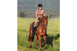 Kerrits Kombi Knee Patch Breeches in Mushroom
