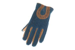 Mountain Horse Ladies Crochet Gloves in Sea Blue