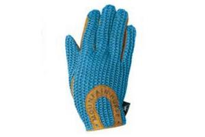 Mountain Horse Child's Crochet Gloves in Regal Blue