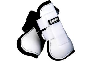 Roma Open Front Boots in White