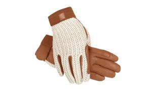 SSG Ladies Lycrochet Ultraflex Gloves in Natural
