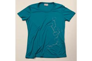 Stirrups Bits Tee Shirt in Aqua