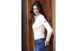 Goode Rider Long Sleeve Ideal Show Shirt in Champagne