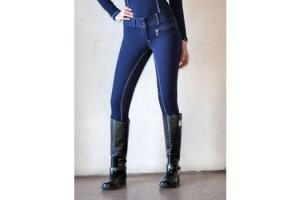 Goode Rider Pro Rider Full Seat Breeches in Midnight and Navy