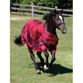 Shires StormCheeta Poppy 2000D Turnout Rug