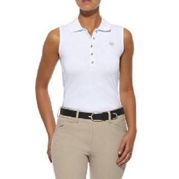 Ariat Womens Prix Sleeveless Polo Shirt