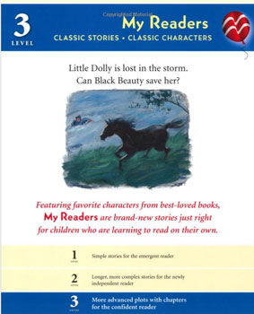 Breyer My Readers, Classic Stories - Classic Characters - Black Beauty and the Thunderstorm - 6162, Softcover| ISBN- 10: 0-312-64721-6| ISBN-13: 9780312647216