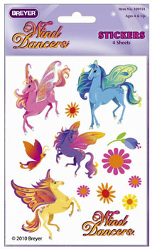 Breyer Wind Dancers Stickers - 100151