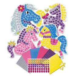 My First Sticky Mosaics Ponies