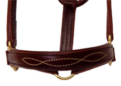 Walsh Padded Leather Halter