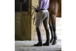 Romfh International Full Seat Breeches in Dove Gray